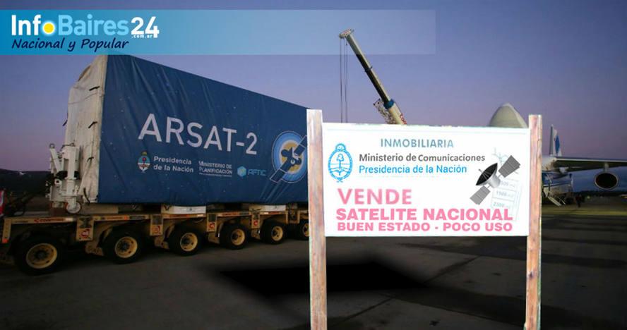 Ponen en venta el ARSAT II