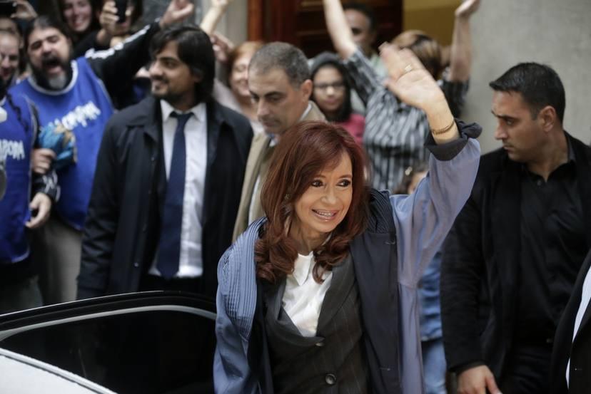 Cristina denunció a Bonadío