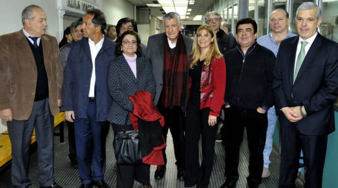 Dirigentes nacionales y provinciales del peronista asistieron al acto homenaje de Evita (26-07-2016)
